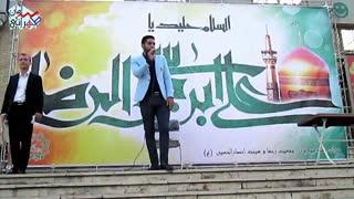 پلاتوی شروع مجری صحنه (سامان طهرانی)
