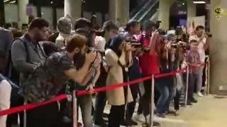 اکران مردمی فیلم دم سرخ ها باحضور بازیگرها
