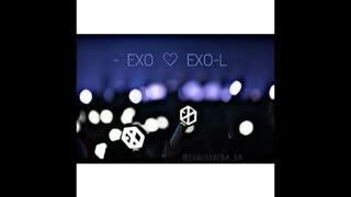 Happy Birthday EXO-L 's❤ آهنگ cosmic  railway