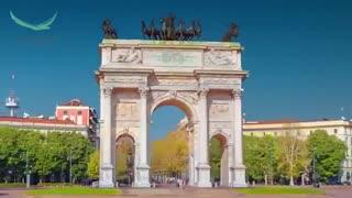 تور میلان ایتالیا در یک دقیقه