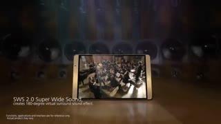 ویدیو معرفی تبلت هواوی مدل مدیا پد ام2  (Huawei Mediapad M2 )
