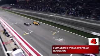 برترین سبقت های فرمول یک 2018 F1