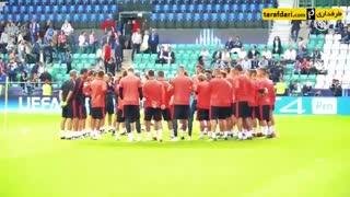 حواشی پیش از بازی رئال مادرید برای تقابل با اتلتیکو مادرید در سوپر کاپ اروپا