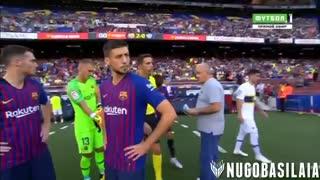 خلاصه بازی بارسلونا 3-0 بوکا جونیور ( جام گمپر 2018 )