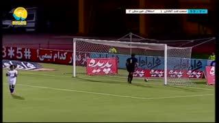 خلاصه بازی صنعت نفت آبادان 2 - استقلال خوزستان 2