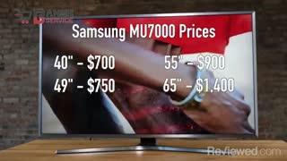 معرفی ویدیویی تلویزیون 43 اینچ 4K سامسونگ مدل 43MU7000