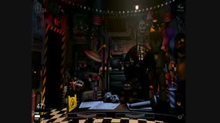 ویدیو گیم پلی بازی five nights at freddys ulitimaute custom night