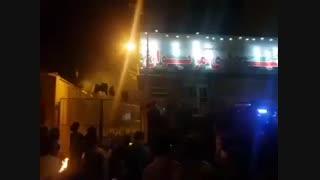۲۸ مرداد ۹۷ اعتراض مردم مریوان در مقابل شهرداری