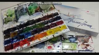 ترکیب رنگ...اموزش نقاشی