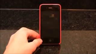 پرینت سه بعدی قاب پایه دار  و دارای کد بیزینس کارت گوشی آیفون!
