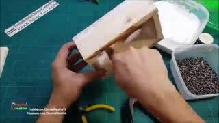 ساختنی ها-آموزش ساخت اسپیکر بلوتوثی با چوب بسیار زیبا