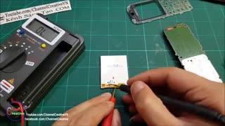 ساختنی ها-آموزش فیکس کردن کابل ال سی دی موبایل