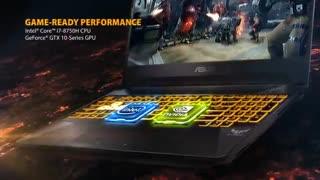 ویدئوی معرفی لپ تاپ ASUS TUF Gaming FX505