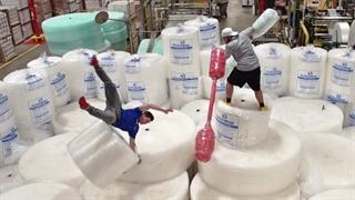 مسابقه هیجان انگیز در کارخانه نایلون حبابدار (دود پرفکت)