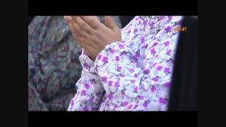 اقامه نماز عید قربان در حرم مطهر رضوی