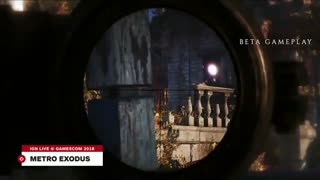 Gamescom 2018: نمایشی 13 دقیقه ای از گیم پلی از عنوان مورد انتظار Metro Exodus
