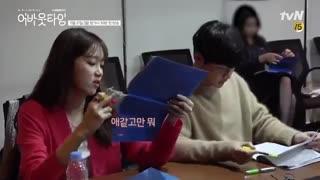 دیالوگ خوانی بازیگران سریال کره ای درباره زمان