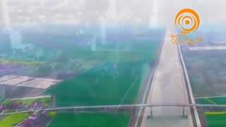 ساخت بزرگترین رودخانهی مصنوعی جهان در چین