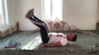 حرکات شکم و پهلو leg  raises  توسط مهدی میرزایی از سایت http://trxplus.vip/