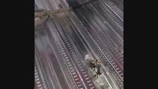 تست گلمیخ سقف عرشه فولادی