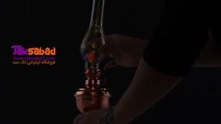 چراغ گرد سوز مسی اصفهان