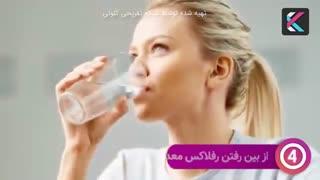 فواید بینظیر آب خوردن ناشتا در یک ماه
