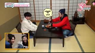 کات hoshi &wonwoo در برنامه one fine day in japan