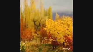 خزان بی نظیر پاییزی طالقان