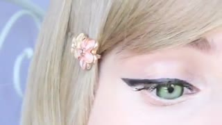 ♡ cute and dolly makeup ♡