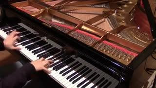 نسخه پیانو آهنگ Unravel اوپنینگ انیمه توکیو غول Unravel - Tokyo Ghoul OP [piano]