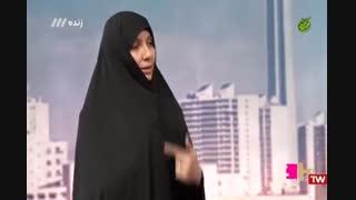 حضور فاطمه مطلق موسس مجموعه خانه ایرانی