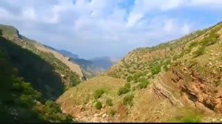 آبشار بسیاااااااااار زیبای شوی بزرگترین آبشار خاورمیانه