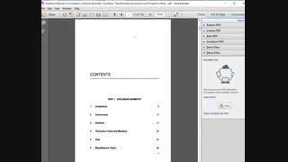 حل تمرین کتاب هندسه کلاسیک Leonard