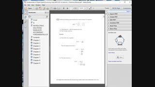 حل تمرین کتاب اصول پردازش سیگنال دیجیتال با استفاده از متلب