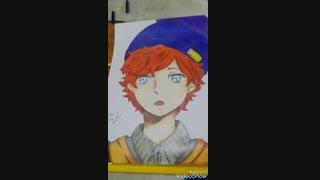 نقاشی من از پسر انیمه که حتی اسمشو نمیدونم [ Bishounen Draw ] چطور شده ؟