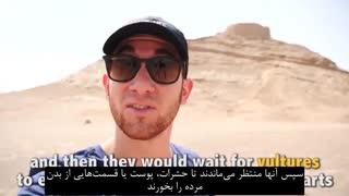 گردش در یزد با گردشگر آمریکایی