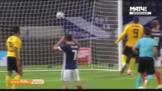 خلاصه بازی دوستانه: اسکاتلند ۰-۴ بلژیک