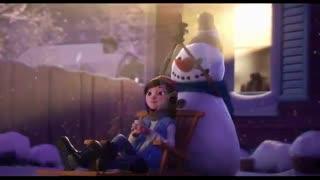 انیمیشن کوتاه لی لی وآدم برفی