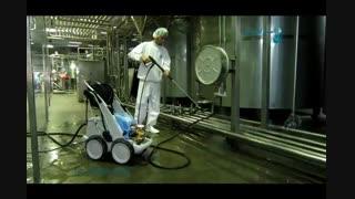 واترجت صنعتی - شستشوی تجهیزات صنعتی با واترجت