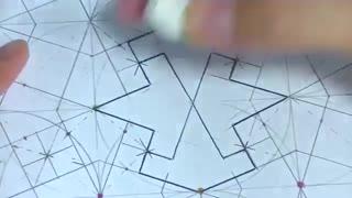 رسم الگو هندسی