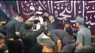 به کوری چشم دشمنان عراقی و ایرانی در کنارهم عزاداری میکنند