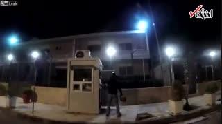 ویدئویی از حمله به سفارت ایران در یونان