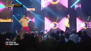 اجرای آهنگ   okey dokey در برنامه show the money از مینو وینر وزیکو بلاک بی