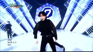 اهنگ گات سون توی موزیک بانکMusic Bank - Lullaby - GOT7