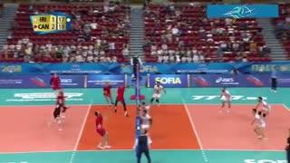 خلاصه بازی ایران 2 - کانادا 3 (قهرمانی جهان 2018)
