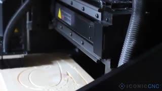 ساخت حروف با کمک CNC