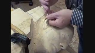 ساخت سردیس چوبی با دست