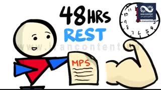 اهمیت استراحت در ورزش و بدنسازی