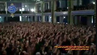 عزاداری هیئت آزادشهر یزد در روز عاشورا|بخش آخر|مسجد روضه محمدیه(حظیره)یزد|محرم 1397