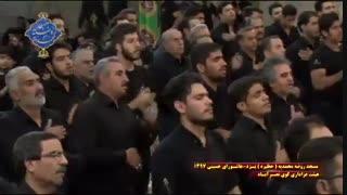 عزاداری هیئت کوی نصرآباد یزد در روز عاشورا|بخش آخر|مسجد روضه محمدیه(حظیره)یزد|محرم 1397
